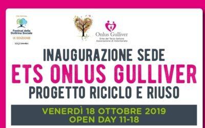 INAUGURAZIONE NUOVA SEDE ONLUS GULLIVER 18/10/2019